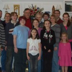 Dec 28 2011 - 50 year Anniversary Party with 3 daughters, 3 son-in-laws, & 11 grandchildren