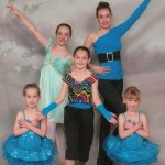 Five Granddaughters ready for their dance recital